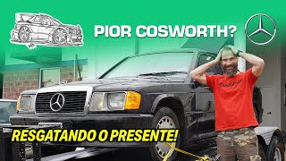 I got a Mercedes 190E Cosworth for free, it looks bad! + Ferrari at grocery! (English subtitles)
