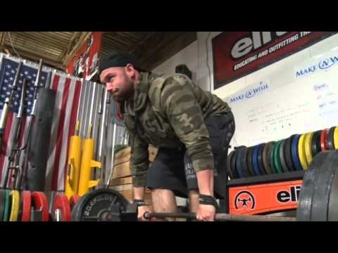 Juarez Valley 8, Deadlift Challenge at EliteFTS Compound