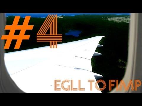 FSX HD| 777-200LR | Heathrow to Mauritius