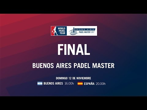 Final Buenos Aires Padel Master 2017
