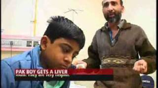 Pakistan teen gets new liver, life in Indian hospital