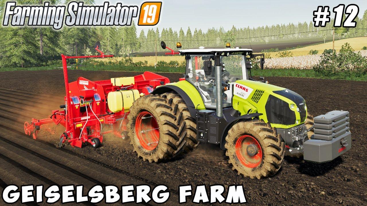 Cultivation, new equipment, planting potatoes | Geiselsberg Farm | Farming simulator 19 | ep #12
