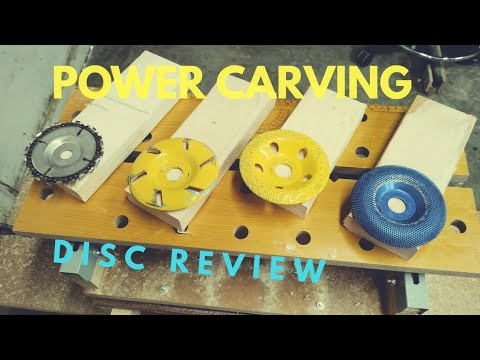 power carving disc tool review for angle grinder