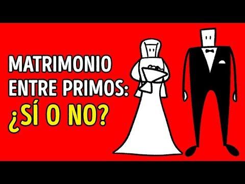 ¿Es peligroso casarse con tu primo?