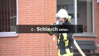 Firefighter Challenge Team Baunatal Trainingslauf