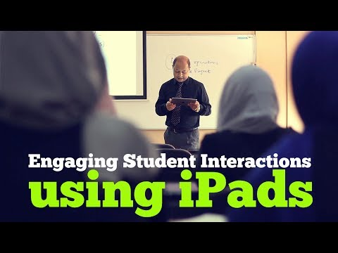 Engaging Student Interactions using iPads