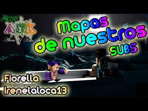 Minecraft - Mapas de Nuestros SUBS - Fiorella - Irenelaloca13