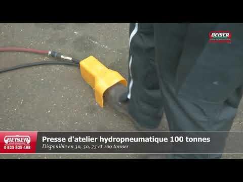 Presse d'atelier hydropneumatique