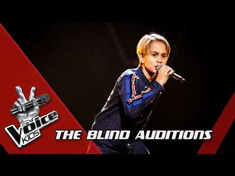 Matisse - 'Soldiers Of Love' | Blind Auditions | The Voice Kids | VTM