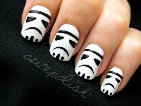 stormtrooper nail art voice
