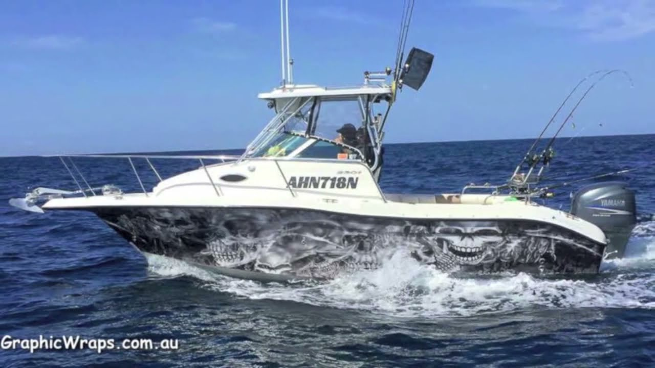 Skull Boat Wrap Seaswirl Striper 2301 Jan 2015 Hp