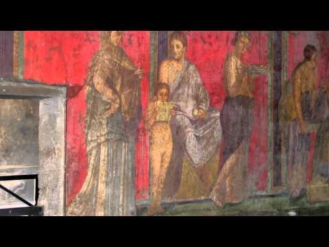 Dionysiac frieze, Villa of Mysteries, Pompeii
