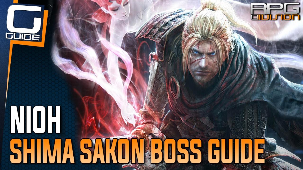Download Nioh Guide - Shima Sakon Boss Walkthrough (No Magic or Items)
