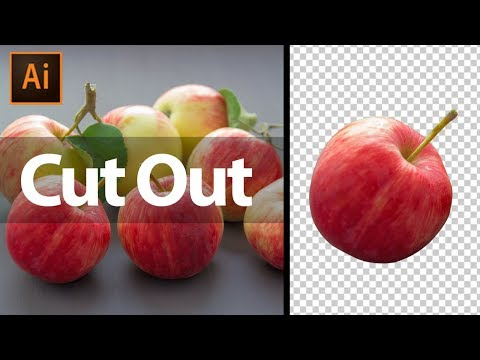Cut out Photo in Illustrator | How to Remove Background in Illustrator in Hindi thumbnail
