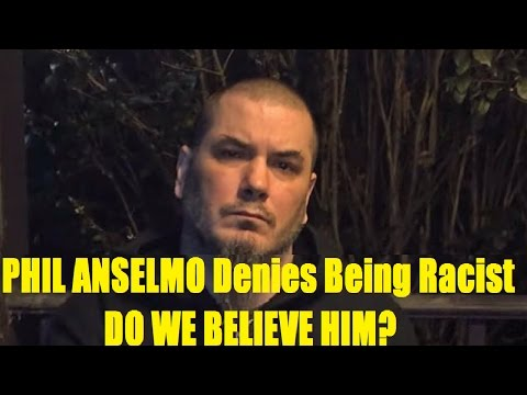 PHIL ANSELMO Denies Being Racist -- Do We Believe Him??