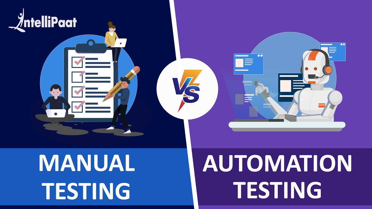 Automation Testing vs Manual Testing | Manual vs Automation Testing | Intellipaat