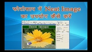 how to instal neat image and how to use it (हिन्‍दी)