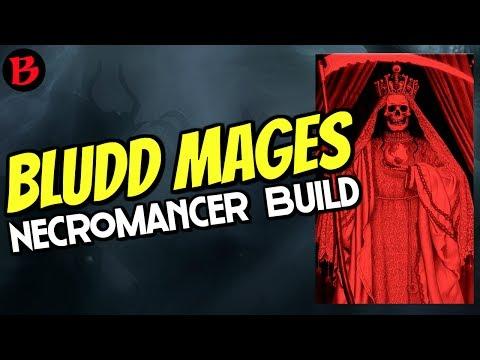 Diablo 3 Necromancer TXIII Rathma speed build, Singularity mages