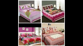 Beautiful Bedsheets design for bedroom....