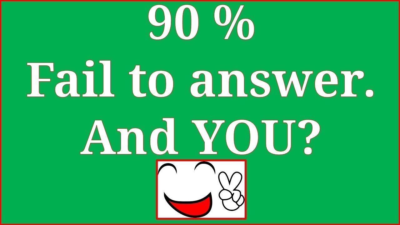 Kid Riddles With Answers 90 Fails To Answer Youtube