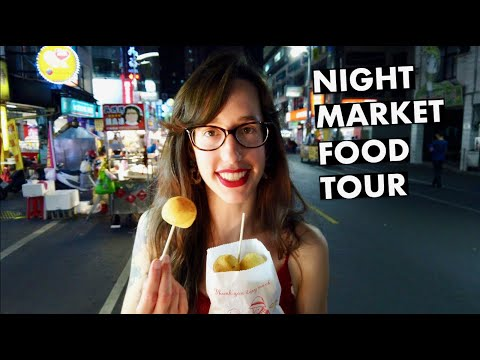 ULTIMATE TAIWAN NIGHT MARKET TOUR! 4K | KAOHSIUNG STREET FOOD GUIDE | BEST NIGHT MARKETS IN TOWN!?!