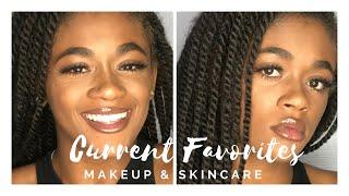 MY CURRENT FAVORITES- SKINCARE & MAKEUP || Jazmine Beauty