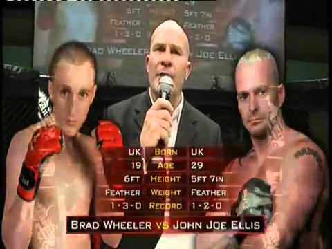 Brad Wheeler vs  John Joe Ellis   Round 1