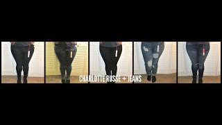 Jeans Try-On| Charlotte Russe Plus Size Jeans |aBrushofBre