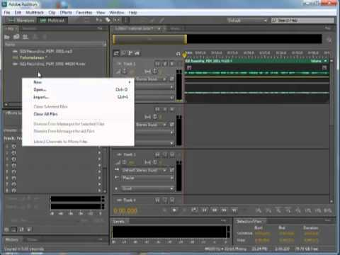 Set up Audition 3 audio drivers for Adobe Audition