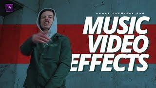 Эффекты Для МУЗЫКАЛЬНЫХ КЛИПОВ | Монтаж в Adobe Premiere Pro CC 2019