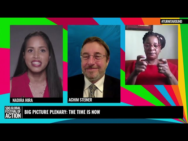 Big Picture Plenary: The Time is Now