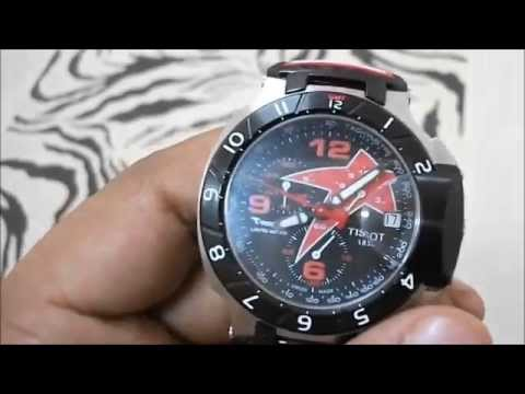 2025abfd911 Relógio Tissot T Race Nicky Hayden Edition Especial Red - YouTube