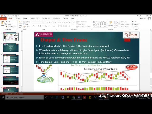 Intraday Trading Strategy using SUPER-TREND | RAHIL VORA