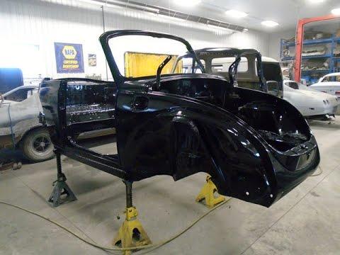 '78 VW Beetle Bug Convertible Restoration, lastchanceautorestore.com - YouTube
