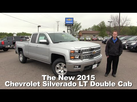 Review: The 2015 Chevrolet Silverado LT Double Cab Minneapolis, St Cloud, Cold Spring, Willmar, MN