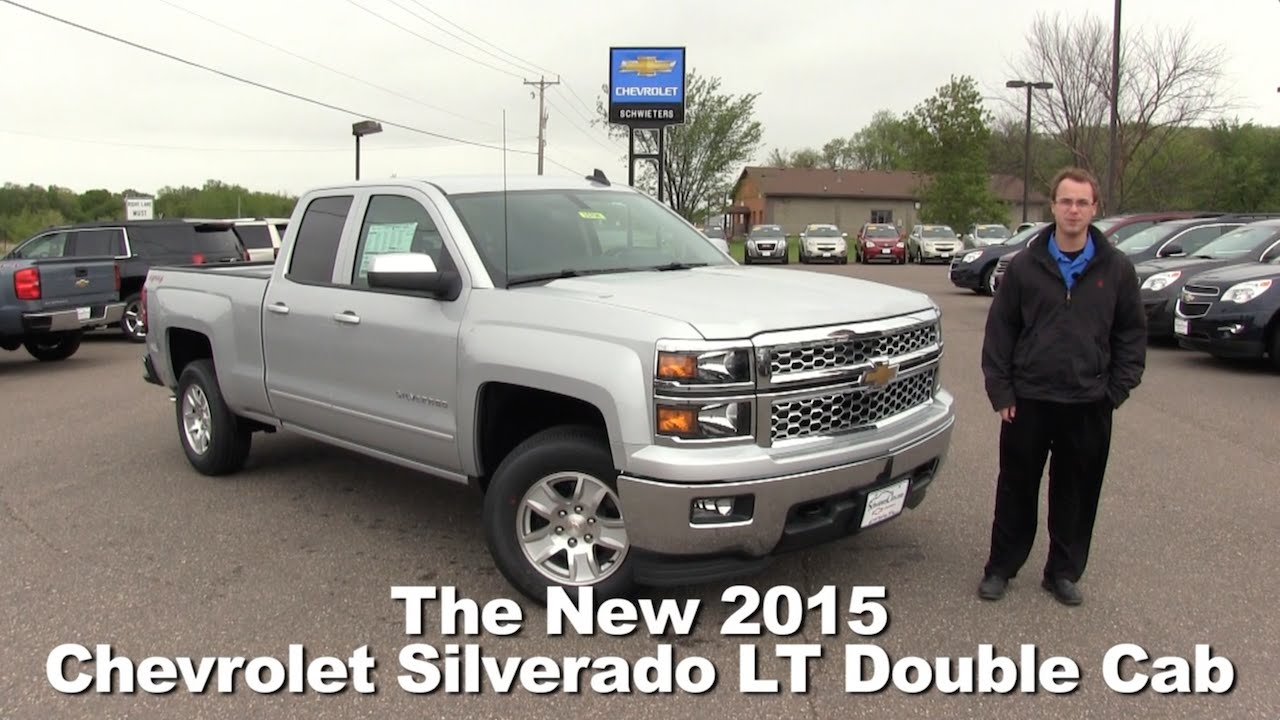 2015 Chevrolet Silverado 1500 Double Cab >> Review The 2015 Chevrolet Silverado Lt Double Cab Minneapolis St Cloud Cold Spring Willmar Mn