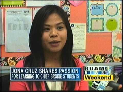 Chief Brodie Elementary School's Jona Cruz shares passion for learning