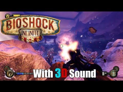 Bioshock Infinite with 3D sound (CMSS-3D Headphone)