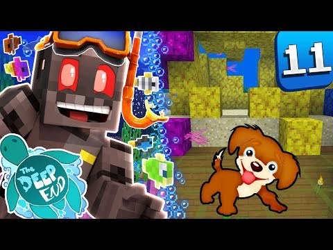 Minecraft The Deep End SMP Episode 11: Cuddle Buddy