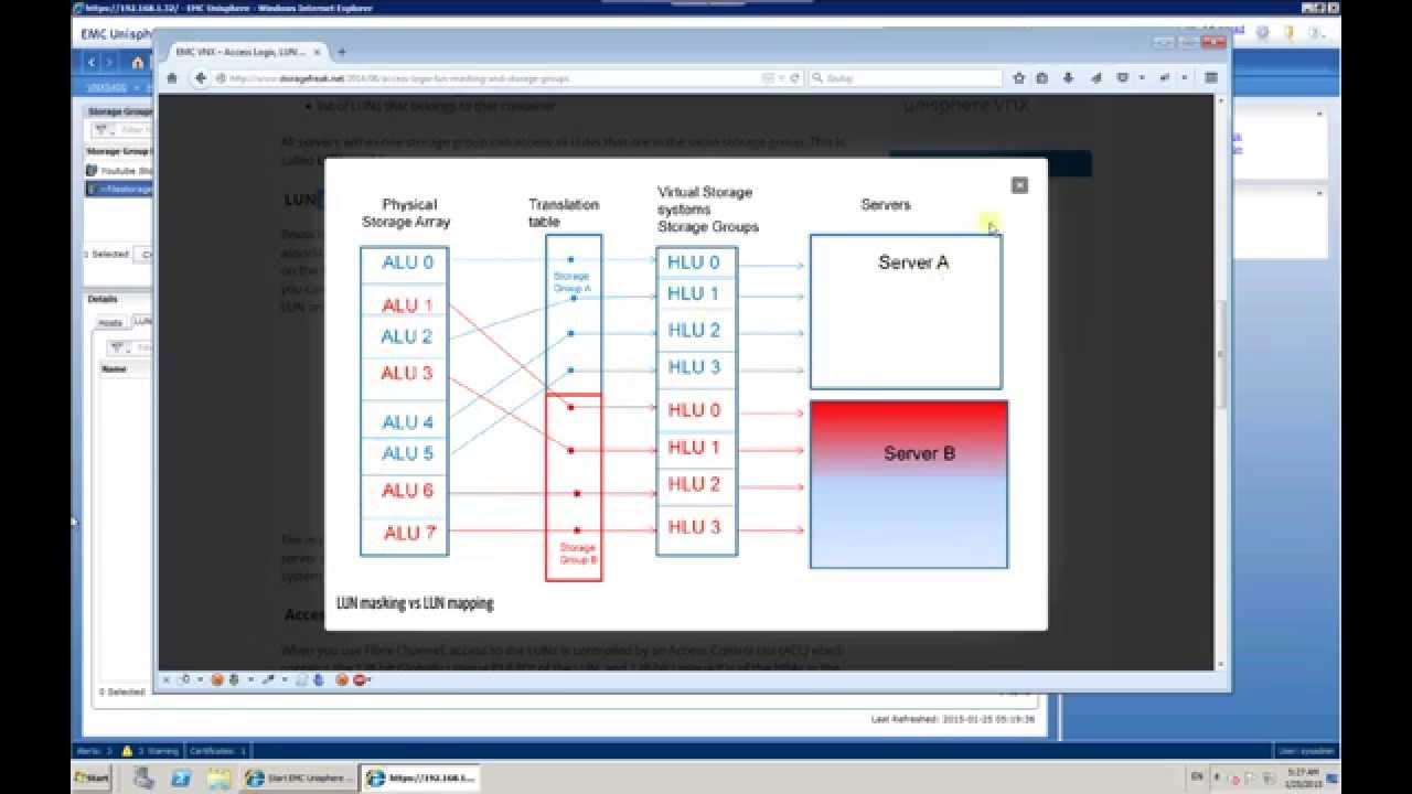 Introduction to emc vnx basic block administration youtube baditri Image collections