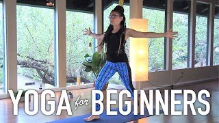 Yoga For Complete Beginners - 20 Minute at Home Yoga Class