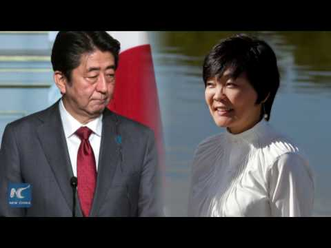 Japanese Prime Minister Shinzo Abe tainted by scandal