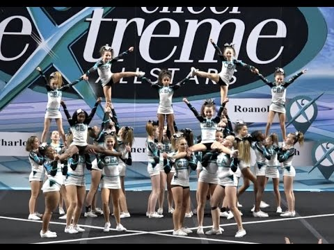 Cheer Extreme Richmond Golden Girls Showcase Jr Level 3
