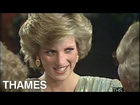 Princess Diana | Royal Premier | View to a Kill | James Bond | 1985