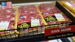 Цены на мясо в загнивающих США