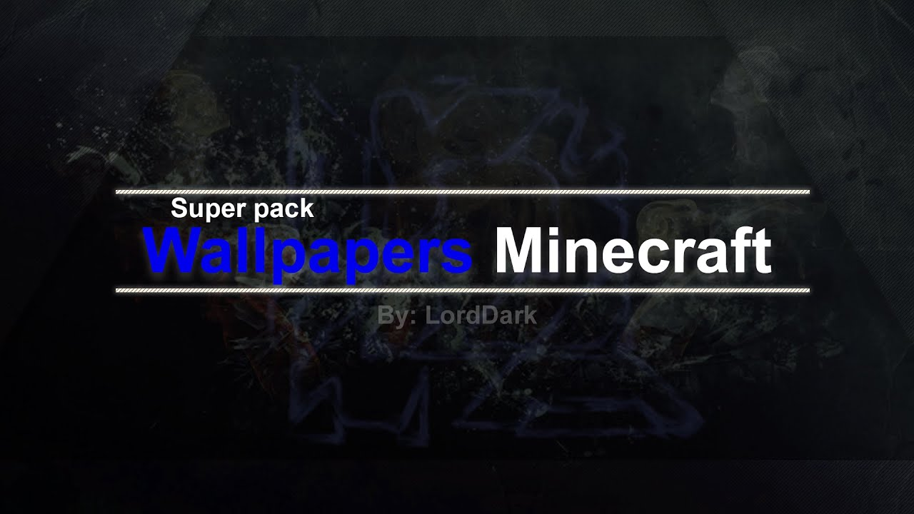 Super Pack Wallpapers Minecraft Paquete Gratis