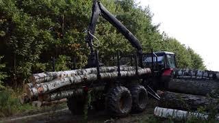 Przyczepa leśna z napędem 4WD    HOMEMADE (DIY) 2