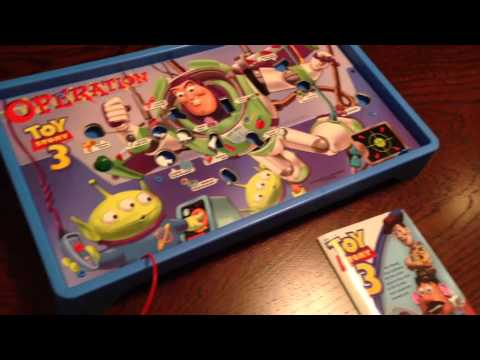 4 Year Old Reviews Toy Story 3 Operation From Hasbro Youtube