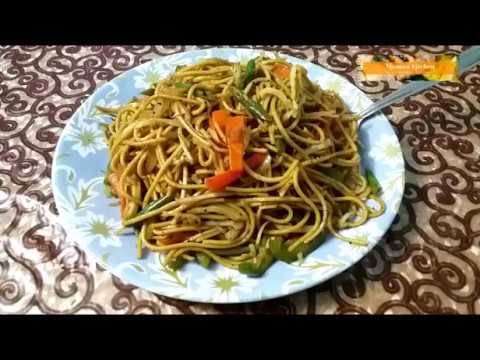 Veg Chow Mein Recipe Veg Noodles Recipe Malayalam Youtube