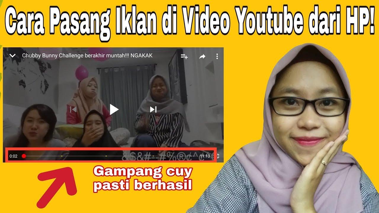 Cara Memasang Iklan Di Video Youtube Dari Hp Youtube
